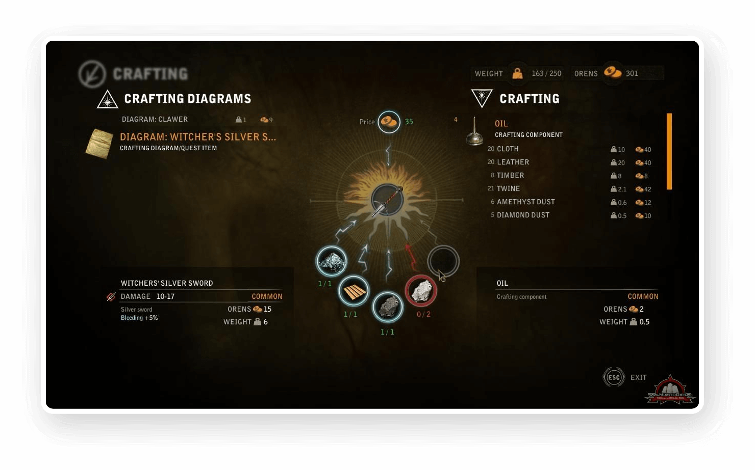 Game UI screenshot